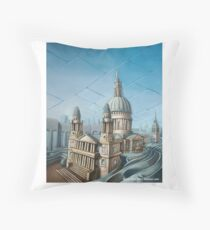 St. Paul's Cathedral (London) Throw Pillow
