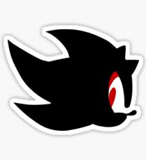 Shadow the hedgehog silhouette  Sticker