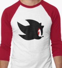 Shadow the hedgehog silhouette  Men's Baseball ¾ T-Shirt