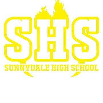 High school by redacedesigns