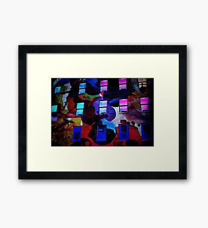 New York Colors Framed Print