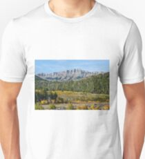 Rocky Mountain Front Range in the Fall T-Shirt