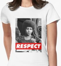 R.E.S.P.E.C.T. Women's Fitted T-Shirt