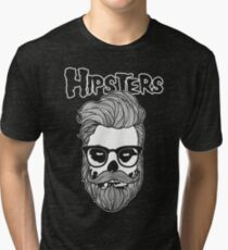 Hipsters Tri-blend T-Shirt