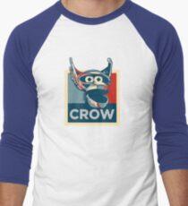 Vote Crow T. Robot Men's Baseball ¾ T-Shirt