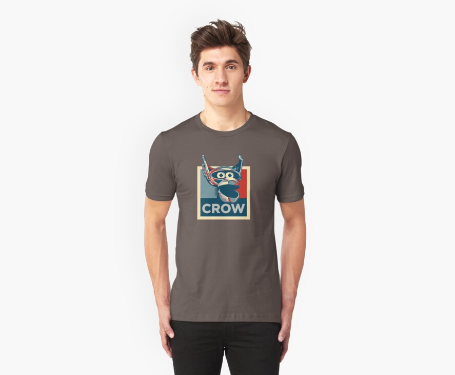 Vote Crow T. Robot by geekychick
