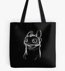 Toothlessketch Tote Bag
