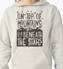On Top Of Mountains Pullover Hoodie