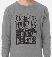 On Top Of Mountains Lightweight Sweatshirt
