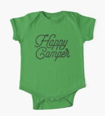 HAPPY CAMPER One Piece - Short Sleeve