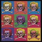 Masterpiece Skull Warhol by ZugArt