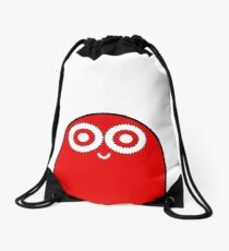 Mr Peak (red&white edition) Drawstring Bag