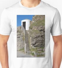 The Lower Pilots Lookout at Portreath T-Shirt