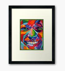 Chalk Portraits ~ Part Eighteen Framed Print