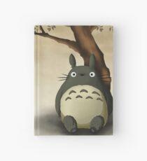 Totoro alone Hardcover Journal