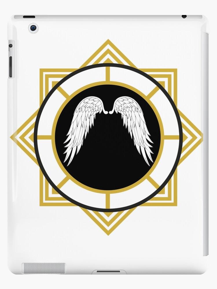 'Angel Wings Emblem' iPad Case/Skin by GuyDude1337