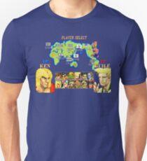 Streetfighter 2 Ken vs Guile T-Shirt