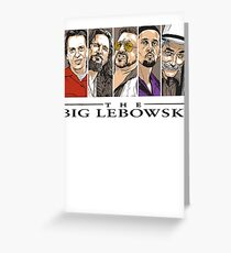 The Big Lebowski Greeting Card