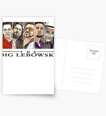 The Big Lebowski Postcards