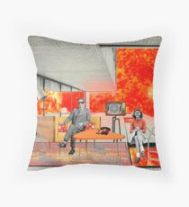 Sunny Home (De Luxe) Throw Pillow