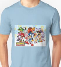 Sonic Characters Unisex T-Shirt