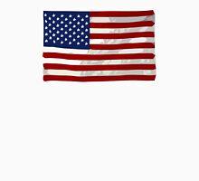 USA flag, block colour design (United States of America) Unisex T-Shirt
