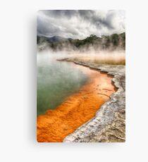 Geothermal Wonderland_Rotorua Canvas Print