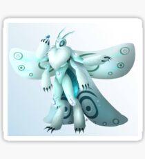 Moth creature Sticker