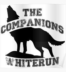 The companions of whiterun - Black Poster