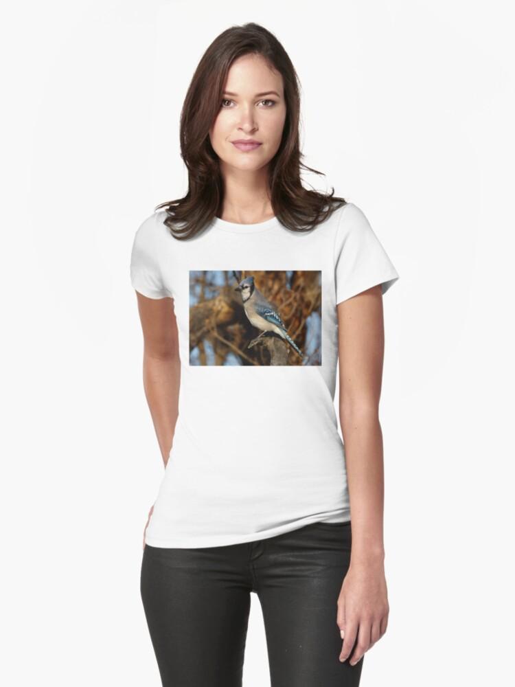 Blue Jay Womens T-Shirt Front
