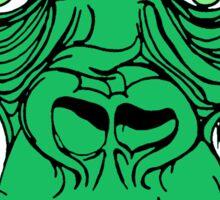 Green Gorilla Sticker