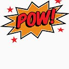 Comicbook Exclamation POW! by DerGrafiker