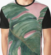 monstera leaf  Graphic T-Shirt