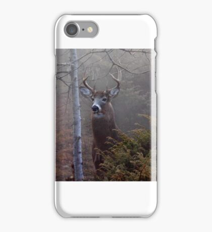 Big necked buck - White-tailed Deer iPhone Case/Skin
