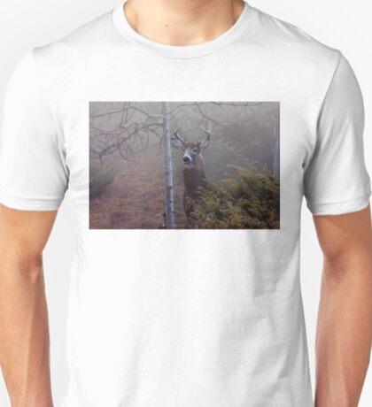Big necked buck - White-tailed Deer T-Shirt