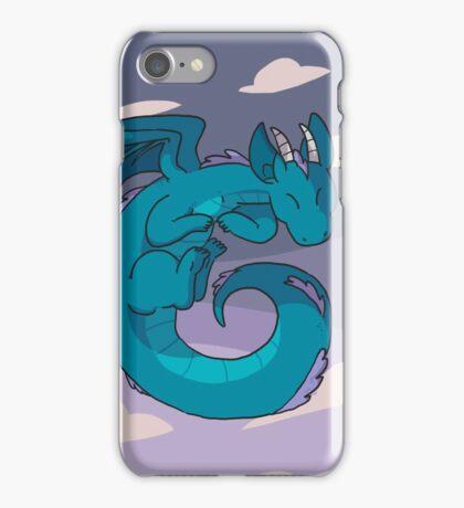 Spiral dragon iPhone Case/Skin