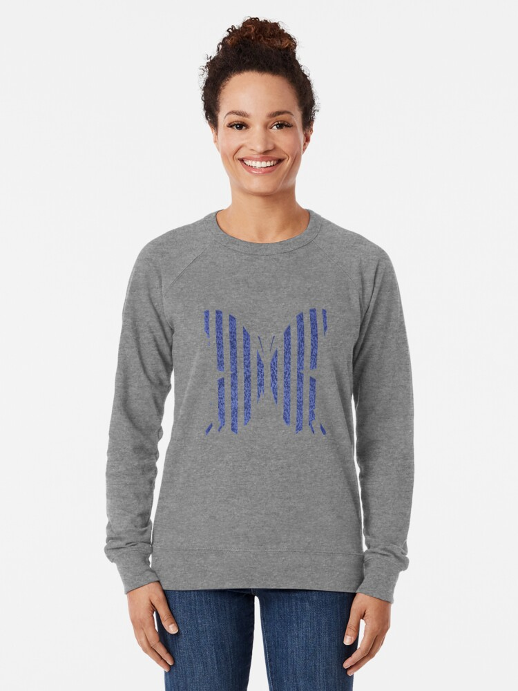 Alternate view of Stylized butterfly Lightweight Sweatshirt