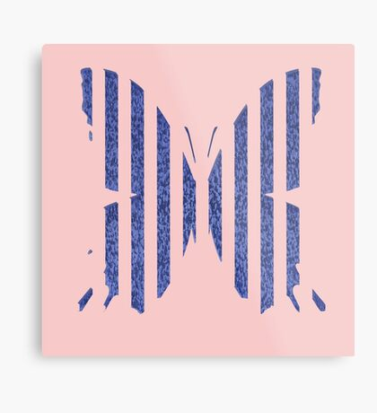 Stylized butterfly Metal Print
