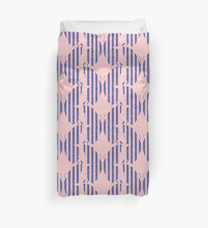 Stylized butterfly Duvet Cover