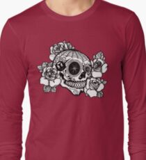 ciclismo calavera Long Sleeve T-Shirt