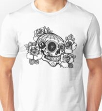 ciclismo calavera Unisex T-Shirt