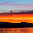 Northern Olympic Sunset by Jim Stiles
