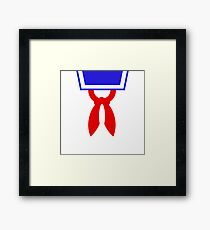 Mr Stay Puft Framed Print