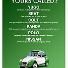 2CV Classic Car Advert by RJWautographics