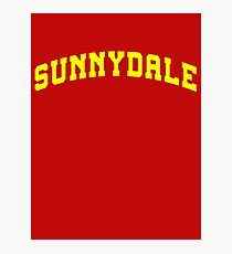SUNNYDALE - Buffy Movie Photographic Print