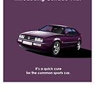 Corrado VR6 Classic Car Advert by RJWautographics