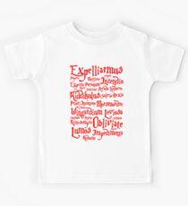 Expelliarmus Spell Quote Kids Tee