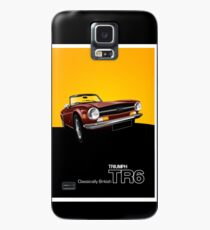 Triumph TR6 Classic Car Advert Case/Skin for Samsung Galaxy