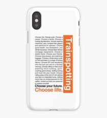 Choose life. iPhone Case
