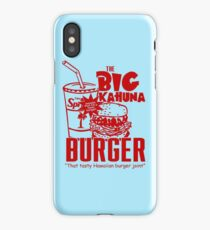 The Big Kahuna Burger iPhone Case/Skin